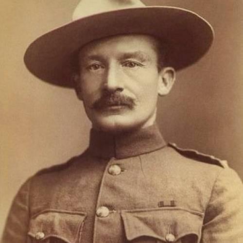 Robert Baden Powell In Nyeri Nyeri County Kenya 1941